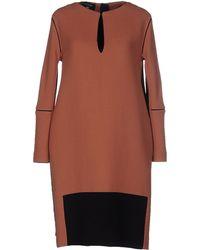 Laura Strambi - Short Dress - Lyst