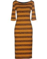 Gallery - Knee-length Dress - Lyst