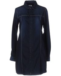 Hudson Jeans - Short Dress - Lyst