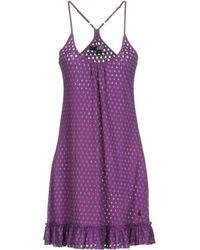 Volcom - Short Dress - Lyst