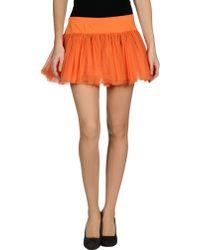 Frankie Morello - Mini Skirt - Lyst