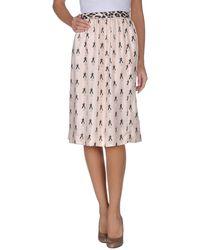 La Prestic Ouiston - Knee Length Skirt - Lyst