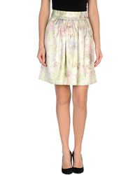 Bellissima by Raffaella Rai - Knee Length Skirt - Lyst