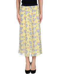 Aimo Richly - 3/4 Length Skirt - Lyst