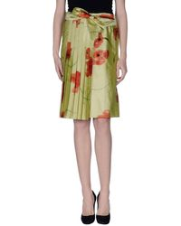 Aspesi - Knee Length Skirt - Lyst