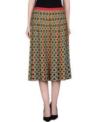 212 New York | 3/4 Length Skirt | Lyst
