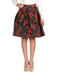 KENZO - 'monster' Quilted Skirt - Lyst