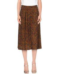 Essentiel - 3/4 Length Skirt - Lyst
