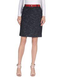 Armani Jeans - Knee Length Skirt - Lyst