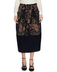 Avelon - 3/4 Length Skirt - Lyst