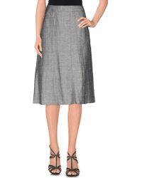 Lebek Barbara Lebek - Knee Length Skirt - Lyst