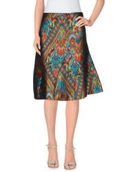 Frankie Morello - Knee Length Skirt - Lyst