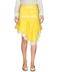 Exte - Knee Length Skirt - Lyst