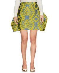 Vivienne Westwood Anglomania - Mini Skirt - Lyst