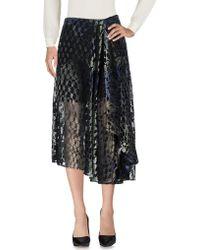 Lala Berlin - 3/4 Length Skirt - Lyst