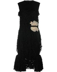 Lanvin - Knee-length Dress - Lyst