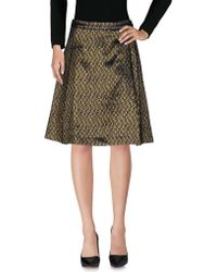 Tres Chic SARTORIAL - Knee Length Skirt - Lyst