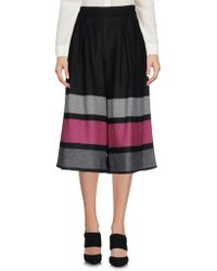 CafeNoir - 3/4-length Shorts - Lyst