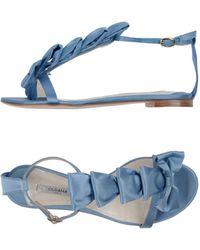 Olgana Paris - Toe Strap Sandals - Lyst