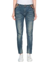 Red Soul - Denim Trousers - Lyst