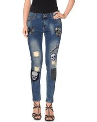 Superpants - Denim Pants - Lyst
