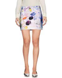 Paul by Paul Smith - Mini Skirt - Lyst