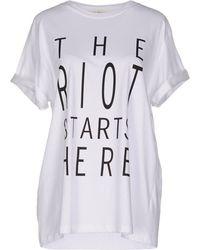 Kelly Shaw - T-shirt - Lyst