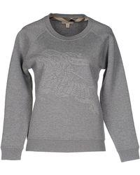Burberry Brit - Sweatshirt - Lyst