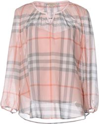 Burberry Brit - Blouse - Lyst