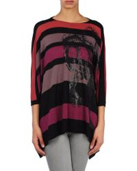 Miss Sixty - Short Sleeve Sweater - Lyst