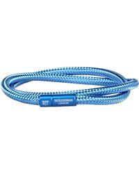 Tateossian Armband - Blau