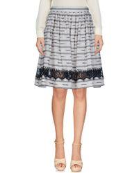 Alice + Olivia - Knee Length Skirt - Lyst