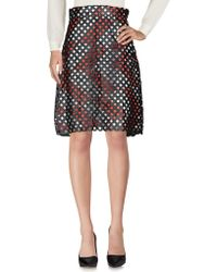 Gas - Knee Length Skirts - Lyst