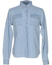 Bolongaro Trevor | Denim Shirt | Lyst