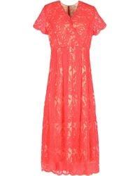 Darling - 3/4 Length Dresses - Lyst