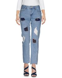 SJYP - Denim Trousers - Lyst