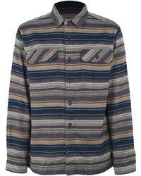 Patagonia - 'fjord' Regular Fit Organic Cotton Flannel Shirt - Lyst