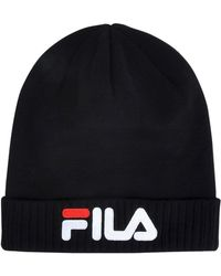 e04329e6fb9 Fila Hats in Black for Men - Lyst