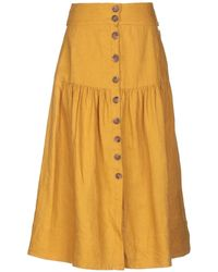 Sea - 3/4 Length Skirt - Lyst