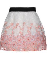 Blugirl Blumarine - Mini Skirt - Lyst