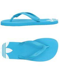 adidas Originals - Toe Strap Sandals - Lyst