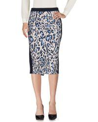 Angelo Marani | 3/4 Length Skirt | Lyst