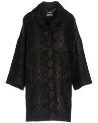 Just Cavalli - - Single Breasted Coat - Women - Acrylic/polyamide/polyester/alpaca - 38 - Lyst
