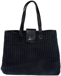Hogan by Karl Lagerfeld - Large Fabric Bag - Lyst