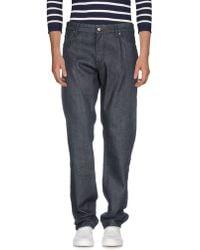 BOSS Black - Denim Trousers - Lyst