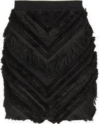 Balmain - Knee Length Skirt - Lyst