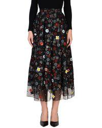 Holly Fulton - 3/4 Length Skirt - Lyst