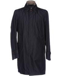 Henry Cotton's - Overcoat - Lyst