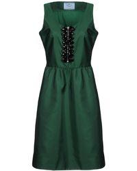 Prada - All Designer Products - Knee-length Dress - Lyst