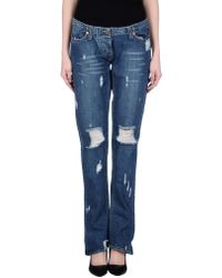 Secret Pon-pon | Denim Trousers | Lyst